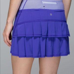 Lululemon Run: Pace Setter Skirt *4-way Stretch